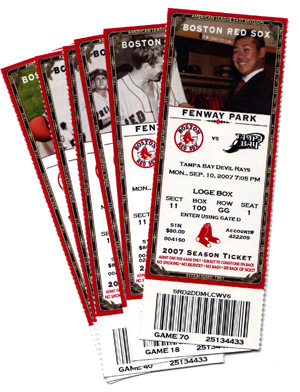 Red Sox Tickets – The Little Things