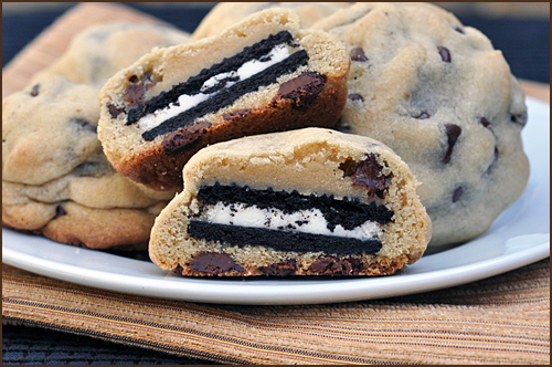 and my favorite, an Oreo Stuffed Chocolate Chip Cookie. That's right ...