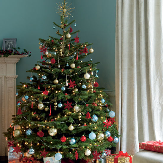 categories - Real Christmas Tree Decorated