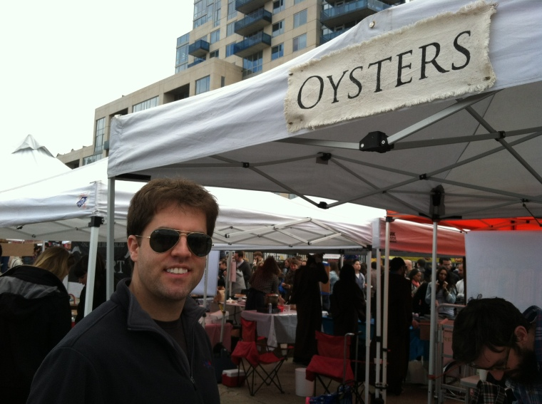 Two of our favorite things, Brooklyn and oysters!