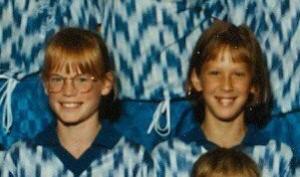 Lindsay and me - 1993