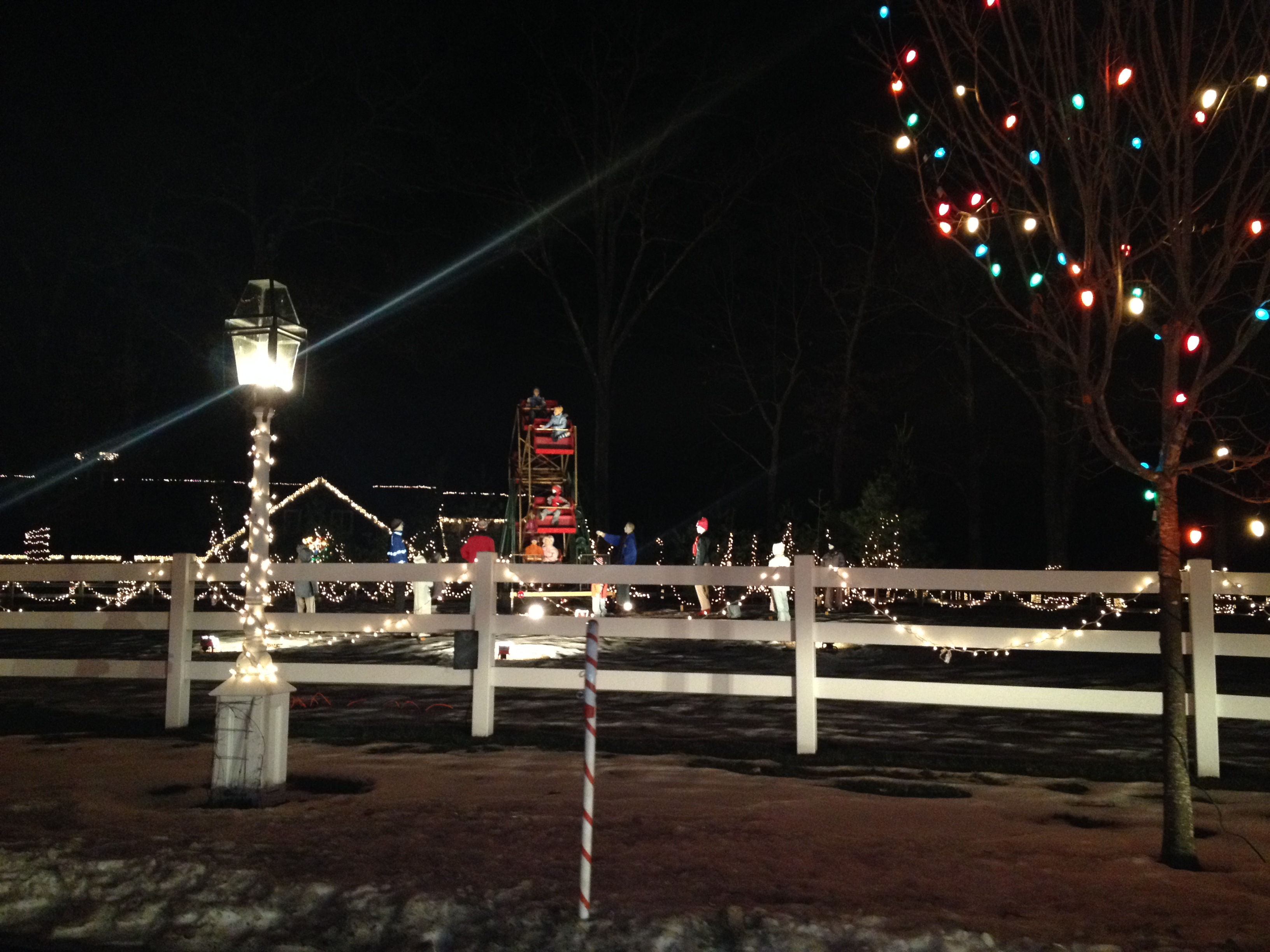 Christmas Lights In Millis Ma
