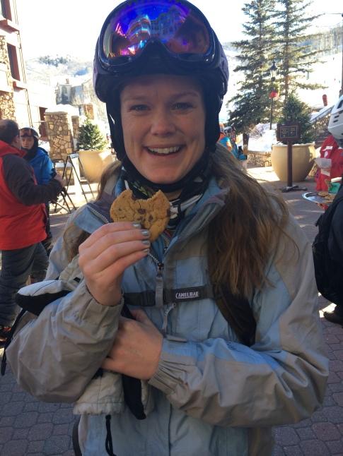 Free cookies at Beaver Creek
